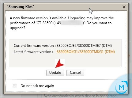 firmware samsung