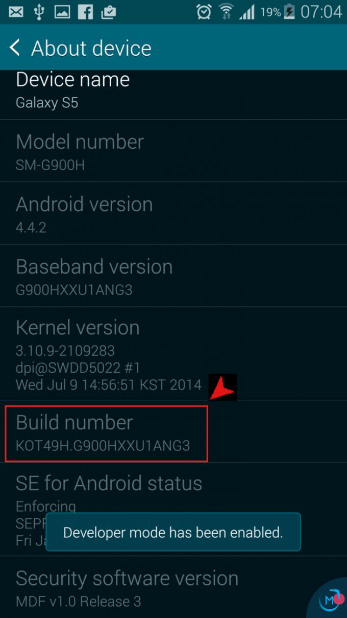 Android collegamento app 2015