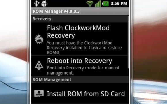 backup rom originale android